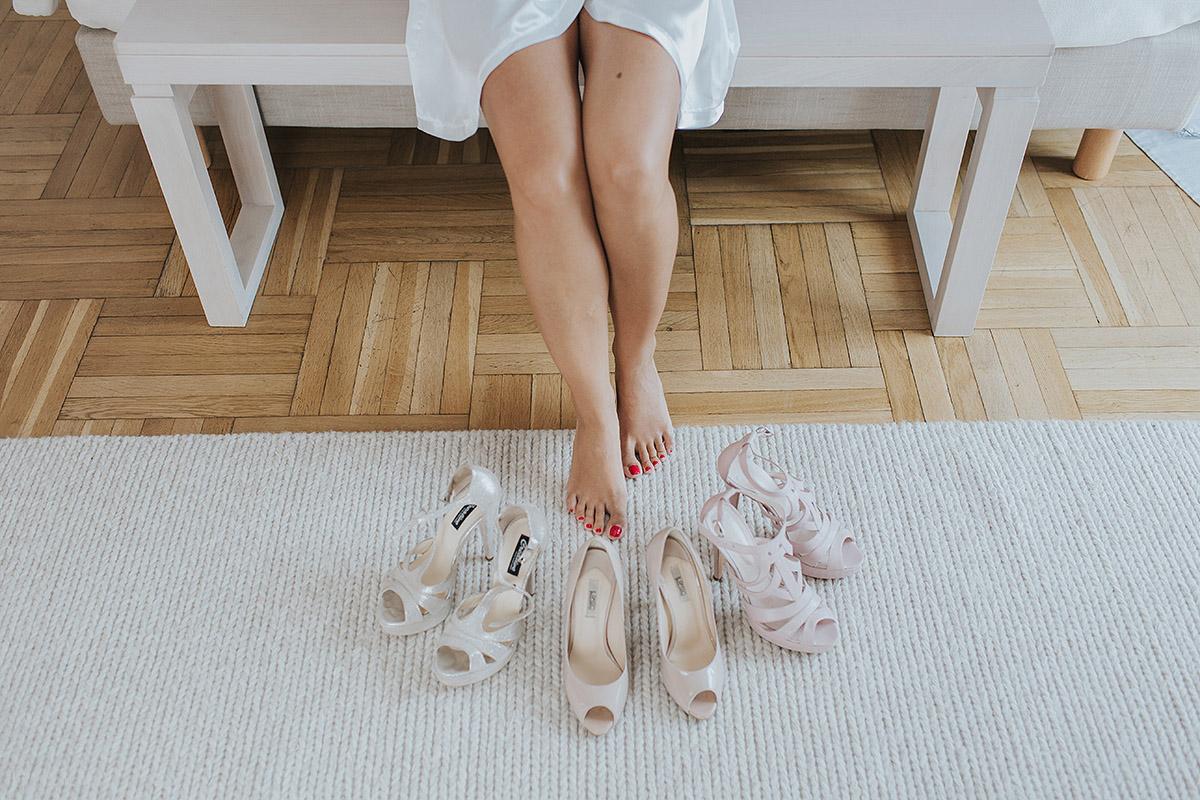 pantofi de mireasa la nunta in satu mare