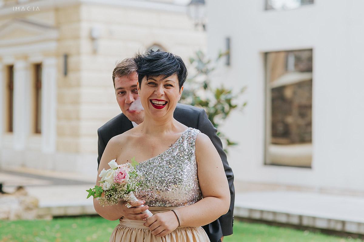 Seidnta foto in ziua nuntii in Baia Mare