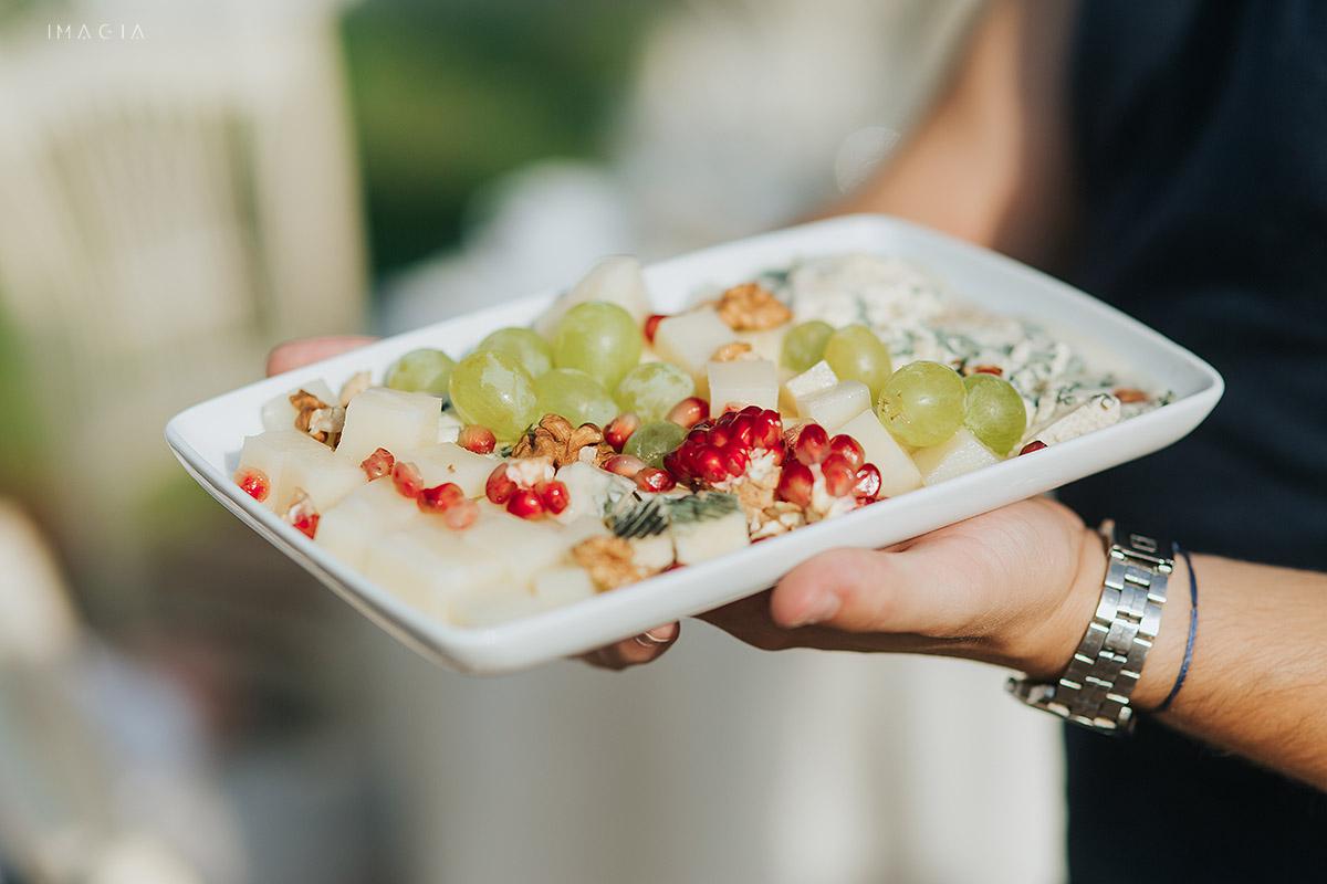 Mancare la o nunta in Baia Mare fotografiata de imagia.ro