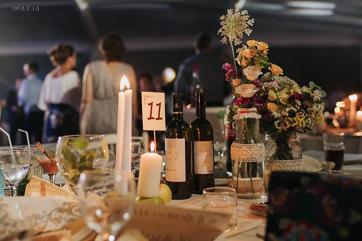Decor la o nunta in Baia Mare fotografiata de imagia.ro