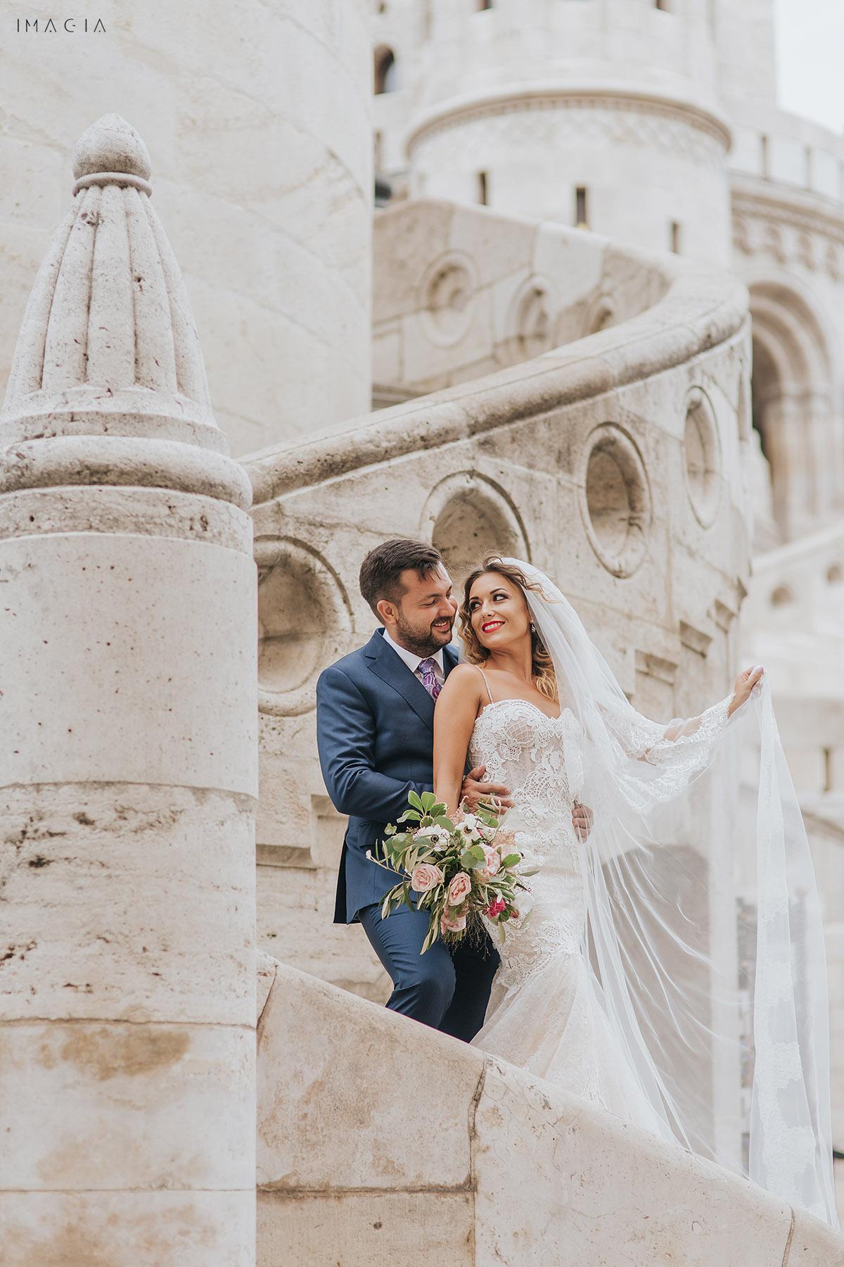 Sedinta foto dupa nunta in Budapesta