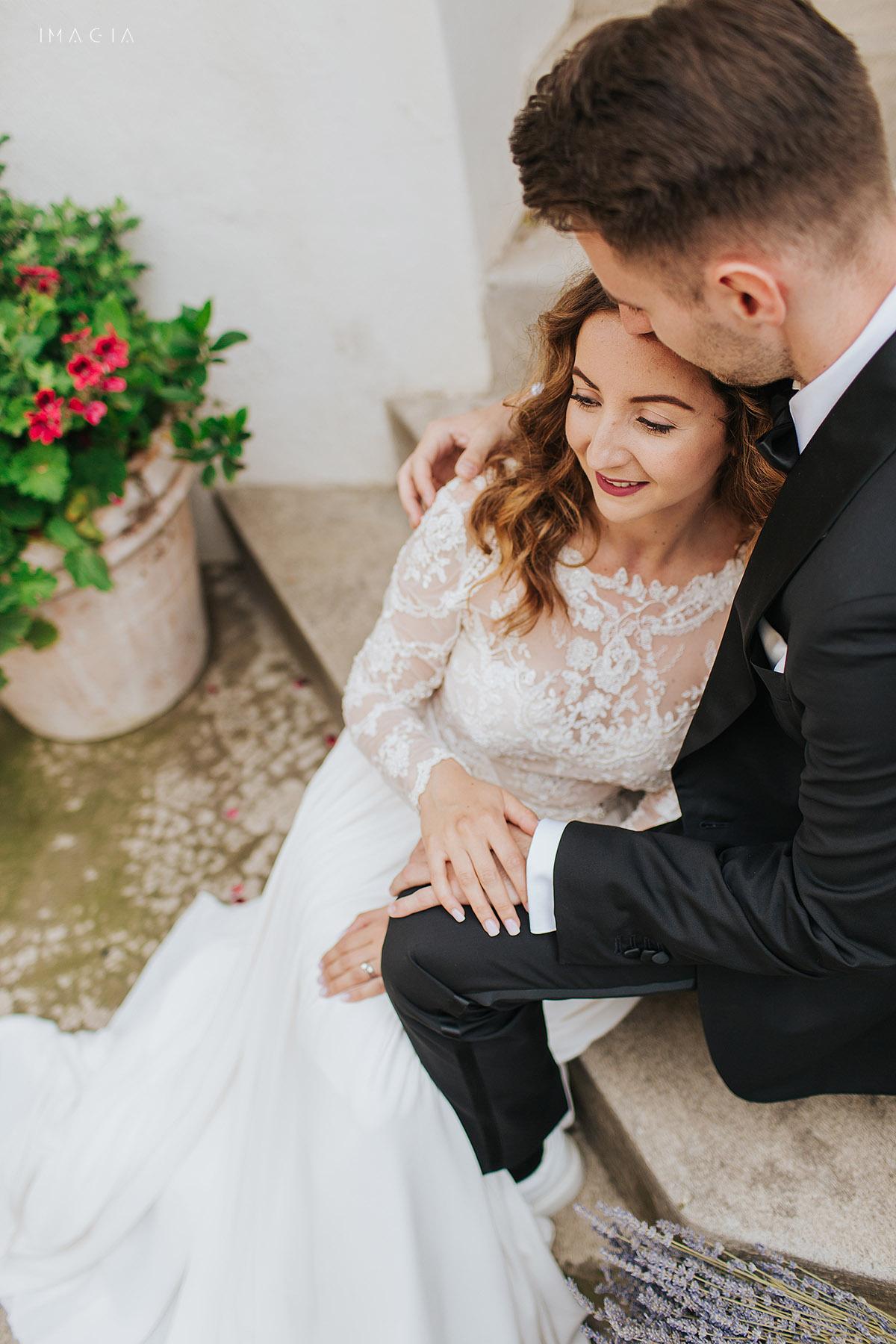Sedinta foto dupa nunta in Amalfi