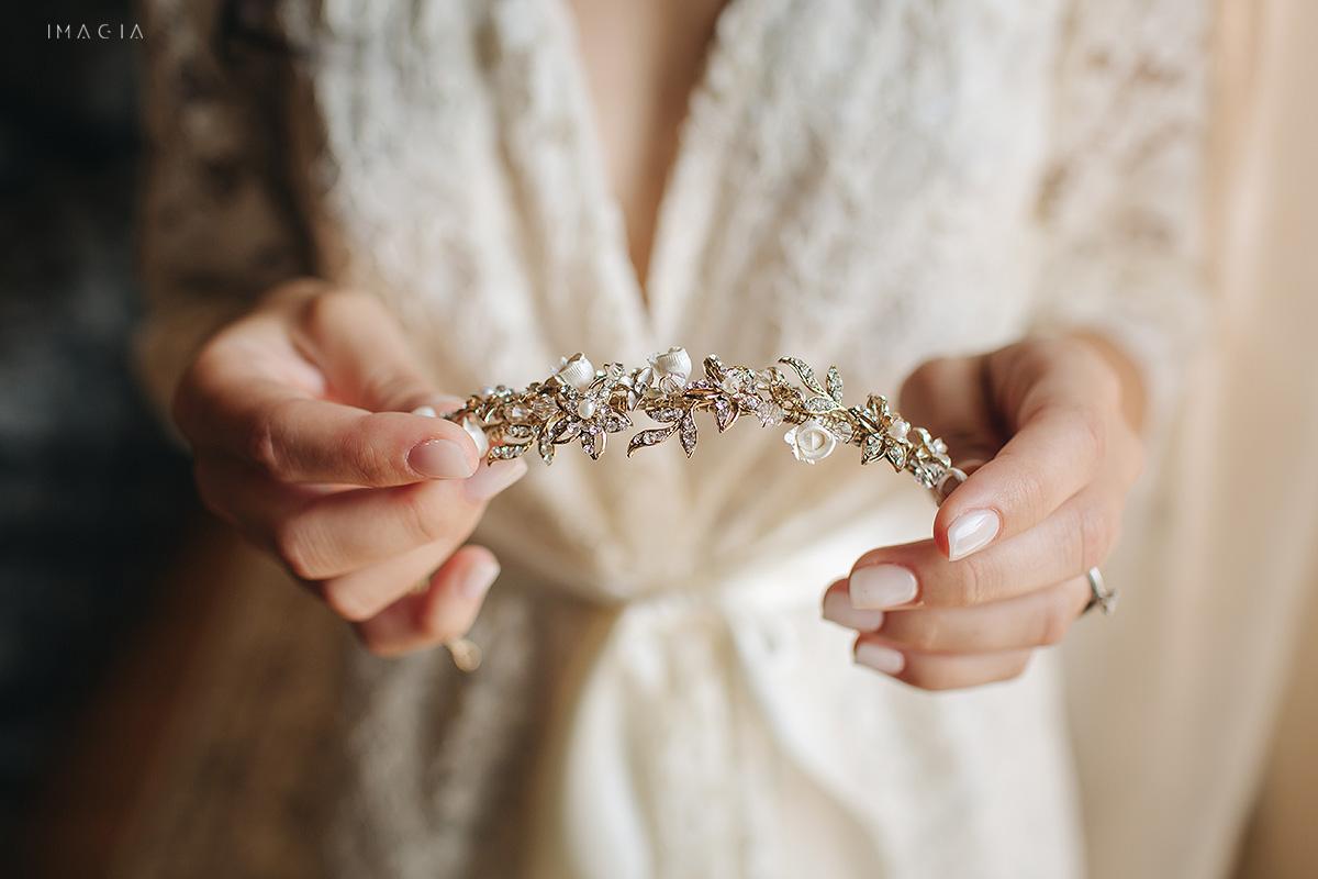 Fotografii de nunta in Satu Mare de la pregatirile miresei