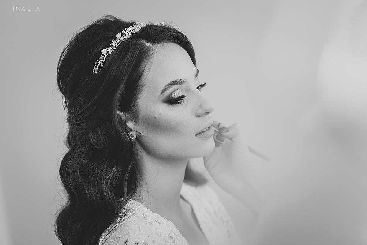 Machiaj de nunta in Satu Mare - fotografie realizata de IMAGIA