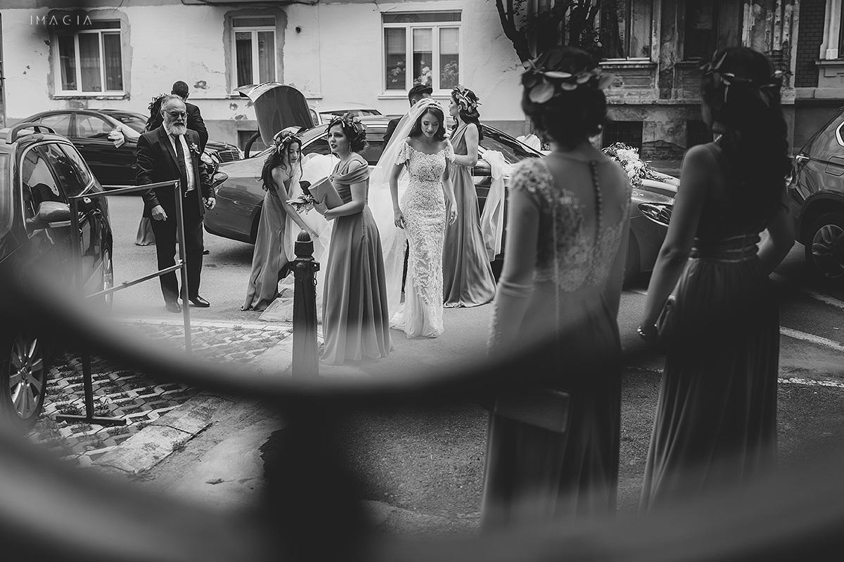Fotografii de nunta in Satu Mare cu rochie creata de Ioana Calin