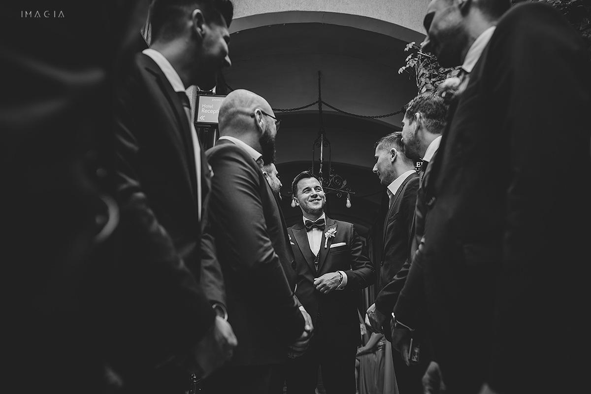 Sedinta foto de nunta in Satu Mare la Hotel Poesis